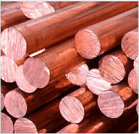 Copper Rods from HITESH STEELS