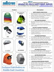 Helmet & Faceshield (Sellstrom Mfg. Co., USA) from URUGUAY GROUP OF COMPANIES