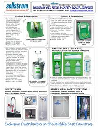 Safety Showers/ Eyewash (Sellstrom Mfg. Co., USA) from URUGUAY GROUP OF COMPANIES