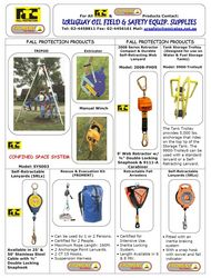Fall Protection Products from URUGUAY GROUP OF COMPANIES