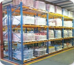 Pallet Racking System from N. R. STEEL STRUCTURE FIXING EST