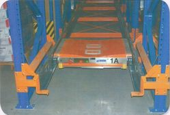 Satellite System Pallet Runner Technology from N. R. STEEL STRUCTURE FIXING EST
