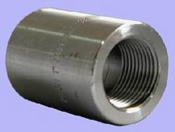 Threaded Half Coupling from GLOBAL STAINLESS STEEL (INDIA)