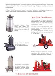 DEWATERING PUMP RENTAL from RTS CONSTRUCTION EQUIPMENT RENTAL L.L.C