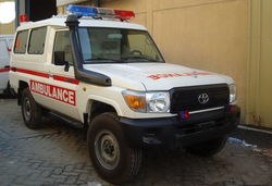Ambulance Conversion in Dubai from KREND MEDICAL EQUIPMENT TRADING LLC