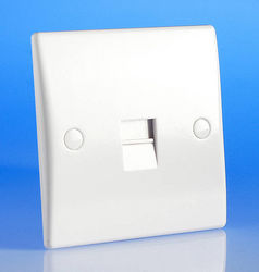 TELEPHONE SOCKET - FACE PLATE from PON SYSTEMS L.L.C.
