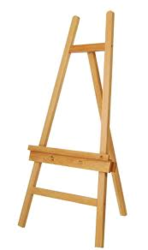 Wooden Easel Stand from SIS TECH GENERAL TRADING LLC