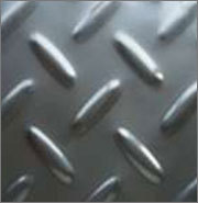 carbon steel chequered plates from ARIHANT STEEL CENTRE