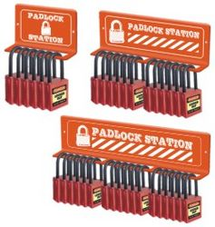 LOCKOUT TAGOUT DUBAI(MINI PADLOCK STATION) from GULF SAFETY EQUIPS TRADING LLC