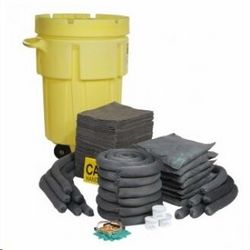 95 GALLON SPILL KIT WITH WHEELS from GSET LLC