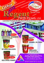 Regent Paints from ASSOCIATED TRADERS LLC
