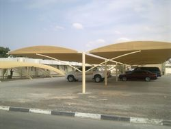 PARKING SHADES TENTS CANOPIES  from AL BAIT AL MALAKI TENTS & SHADES. +971553866226