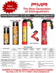 PMR SAFETY FIRE EXTINGUISHERS from URUGUAY GROUP OF COMPANIES
