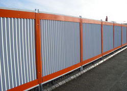 CORRUGATED Profiled SHEET HOARDING PERIMETER FENCE SUPPLIERS & Fencing Dealers, Fabricators, Contractors in Dubai, UAE, Abu Dhabi, GCC, Middle East, Africa from CHAMPIONS ENERGY, FENCE FENCING SUPPLIERS UAE, WWW.CHAMPIONS123.COM
