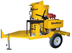 TRAILER MOUNTED GROUT INJECTION EQUIPMENT from ACE CENTRO ENTERPRISES