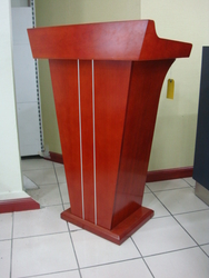 PODIUM - SPEECH TABLE OR STAND  from SIS TECH GENERAL TRADING LLC