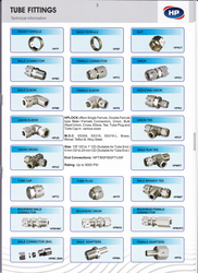 TUBE & PIPE FITTINGS from HP VALVES & FITTINGS FZE