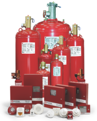 LIFECO-227 ULFM Extinguishing System from LICHFIELD FIRE & SAFETY EQUIPMENT FZE - LIFECO