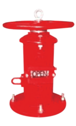 LIFECO Wall Type Indicator Post 800-w FM/UL from LICHFIELD FIRE & SAFETY EQUIPMENT FZE - LIFECO