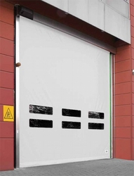 HIGH SPEED ROLL UP DOOR SUPPLIERS IN UAE from DESERT ROOFING & FLOORING L L C (DOORS DIVISION)