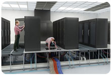 Raised Floor Systems for Server Rooms from ASTRALTECHNOLOGIES