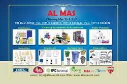 Cleaning Products  from AL MAS CLEANING MAT. TR. L.L.C