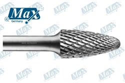 Carbide Rotary Burr Shape F (Tree End Rounded) from A ONE TOOLS TRADING LLC