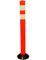 ROAD SAFETY POLE ORANGE BULLYARD 044534894   from ABILITY TRADING LLC