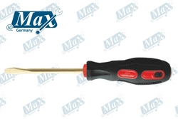 """Non Sparking Flat/Slotted Screwdriver 8"""" from A ONE TOOLS TRADING LLC"""