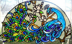 STAINED GLASS UAE from STARS ALUMINIUM AND GLASS COMPANY LLC