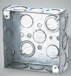 Square Conduit Box from ELECTRAKING FZC