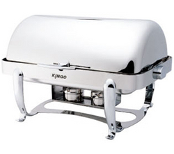 Oblong Chafing Dish Chrome UAE from MIDDLE EAST HOTEL SUPPLIES