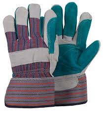 LEATHER DOUBLE PALM GLOVES HEAVY DUTY 044534894 from ABILITY TRADING LLC