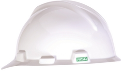 MSA V-GARD® Hard Hat (White) from URUGUAY GROUP OF COMPANIES