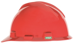 MSA V-GARD® Hard Hat Red from URUGUAY GROUP OF COMPANIES