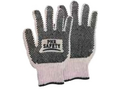 COTTON DOTTED GLOVES, PMR SAFETY from URUGUAY GROUP OF COMPANIES