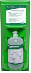 RAPID CLEAR  PERSONAL EYEWASH BOTTLE STATIONS from URUGUAY GROUP OF COMPANIES
