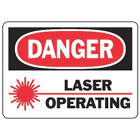 ACCUFORM SIGNS Danger Radiation Sign in uae from