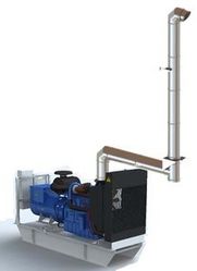 GENERATOR EXHAUST SYSTEM from JEREMIAS MIDDLE EAST