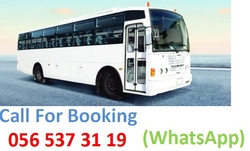 66 & 84 Seater Heavy Buses for rent in UAE from WADI SWAT BUSES TRANSPORT