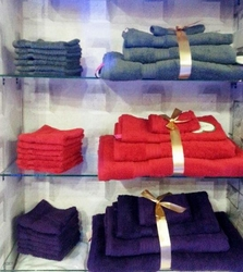 Dyed cotton towels  from BTL TRADING