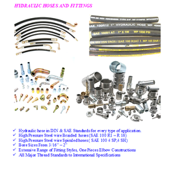 HYDRAULIC HOSES AND FITTINGS from ADMAS GENERAL TRADING L.L.C