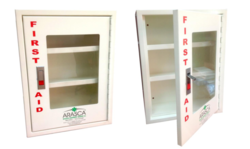 Empty First Aid Wall Mounted Cabinet from ARASCA MEDICAL EQUIPMENT TRADING LLC