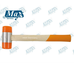 Plastic Hammer 27 mm with Wooden Handle from A ONE TOOLS TRADING LLC