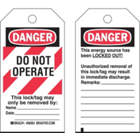 BRADY Danger Tag, Laminated Polyester in uae from GULF WIDE DISTRIBUTION FZE / E MAIL : SALES@DISTRIBUTIONFZE.COM / 0553931464