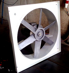 Wall mounted axial fans from DYNAMIC FABRICATION LLC