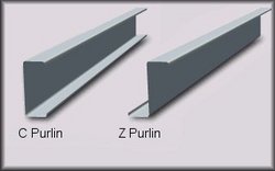 GAlvanized Structrual Quality Z C Purlin from GHOSH METAL INDUSTRIES LLC