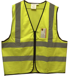 SURNS Safety Vest - Style:04-SMS from CHYTHANYA BUILDING MATERIALS TRADING LLC DUBAI