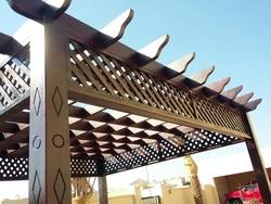 PERGOLA FOR GARDENS SUPPLIERS IN UAE from AL BAIT AL MALAKI TENTS & SHADES +971522124675