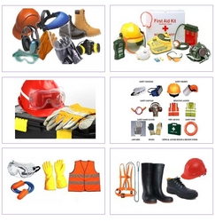 SAFETY MATERIALS SUPPLIYERS from MINCORP TRADING LLC